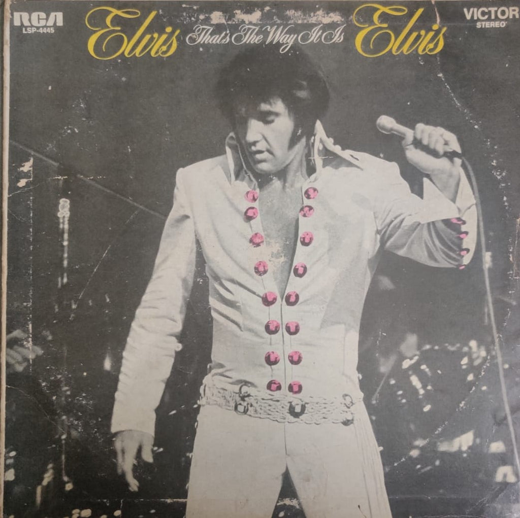 That's The Way It Is By Elvis Presley  (Used Vinyl ) G
