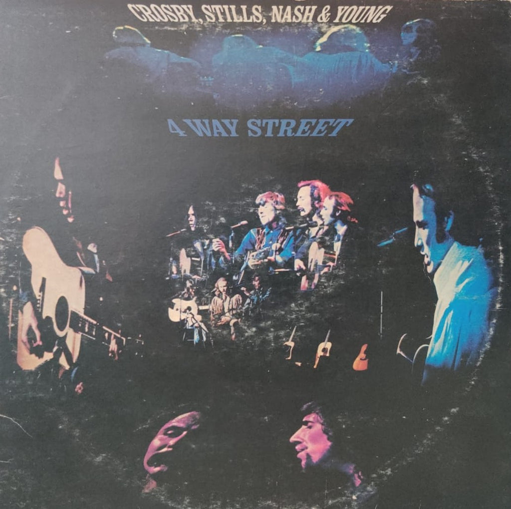 4 Way Street By Crosby, Stills, Nash & Young  (Used Vinyl ) VG