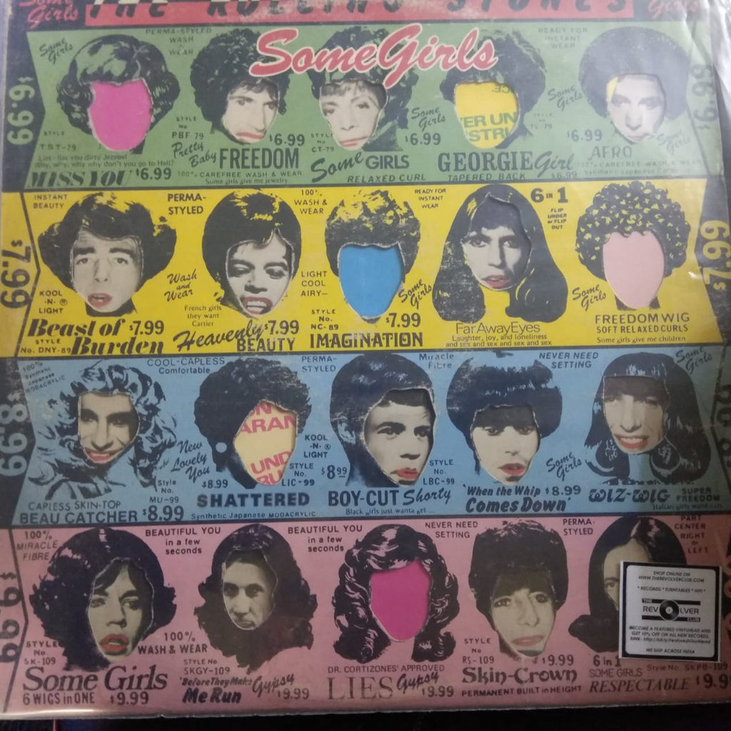 Some Girls By The Rolling Stones  (Used LP) VG
