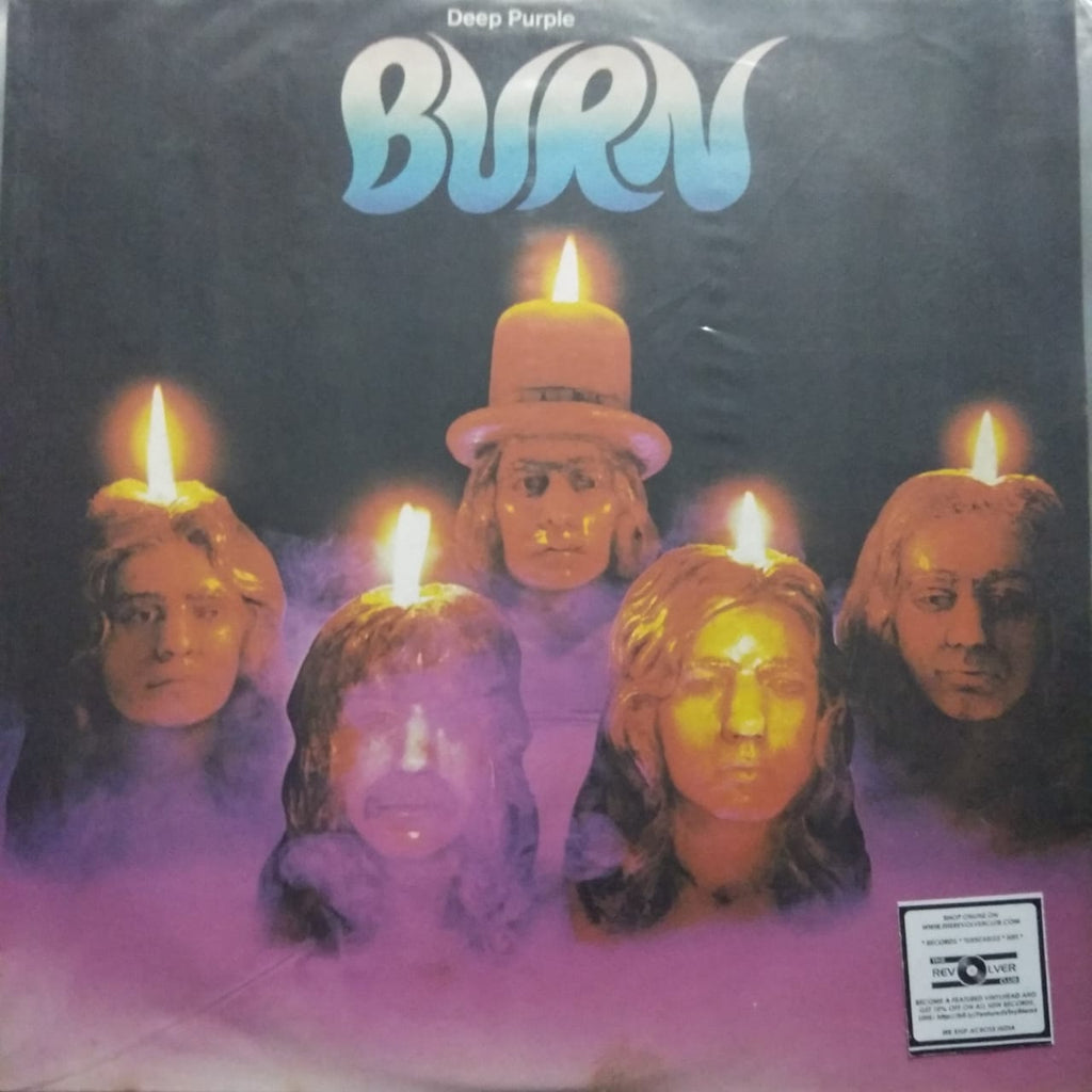 Burn By Deep Purple (Used LP) VG