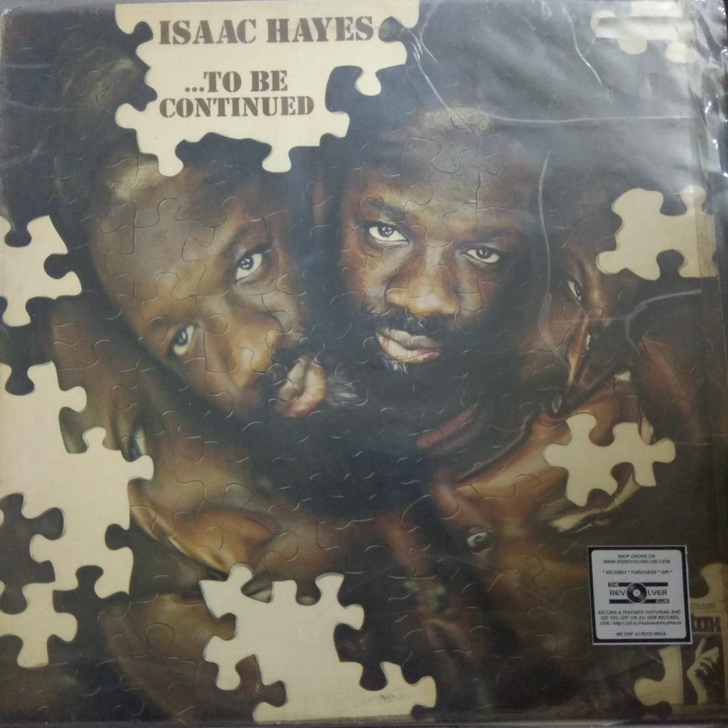 .To Be Continued By Isaac Hayes (Used LP) VG