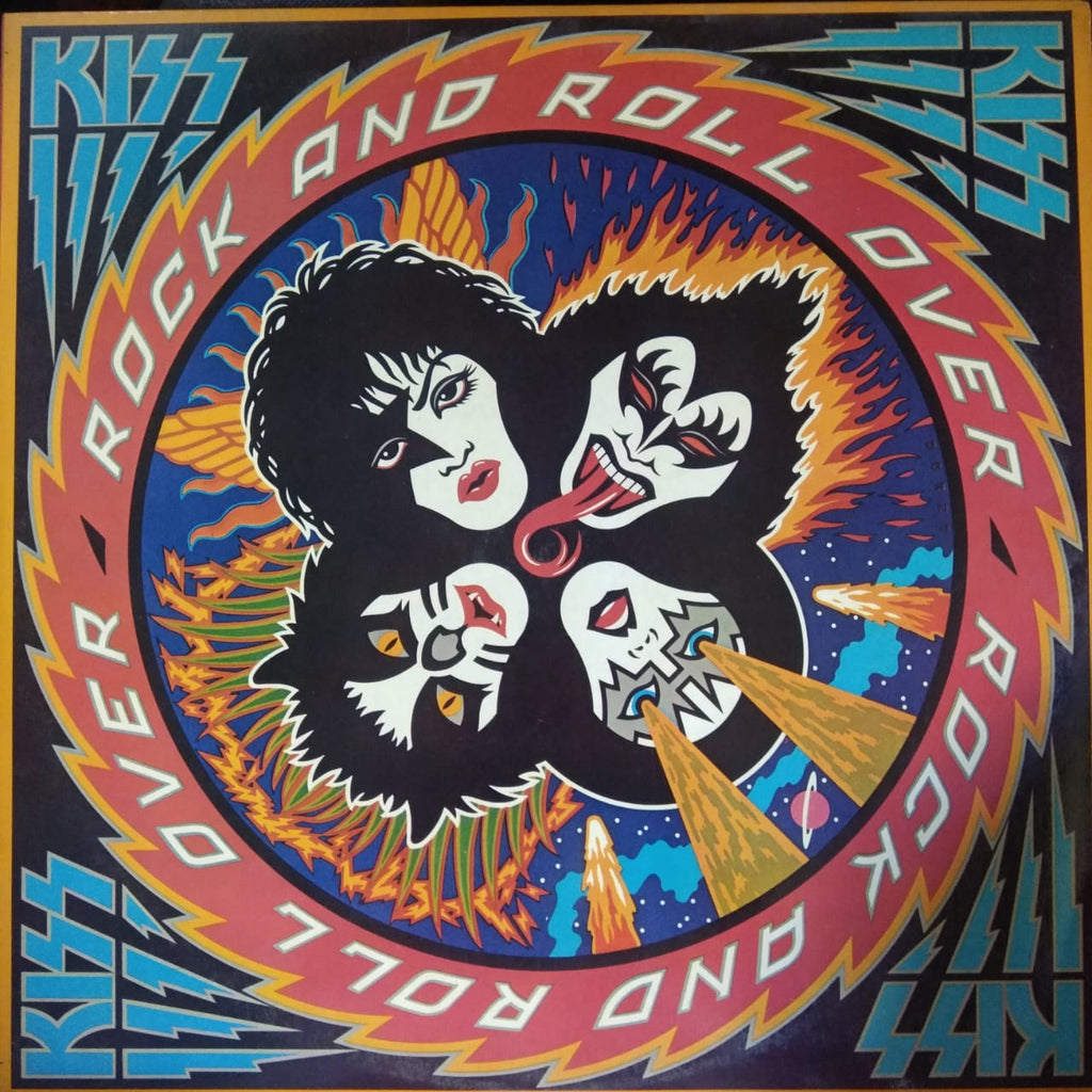 Rock And Roll Over By Kiss  (Used Vinyl  ) VG+