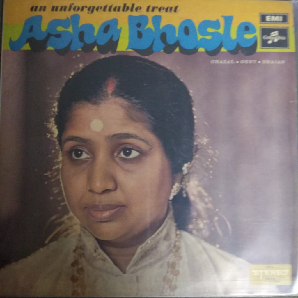 An Unforgettable Treat By Asha Bhosle  (Used Vinyl)