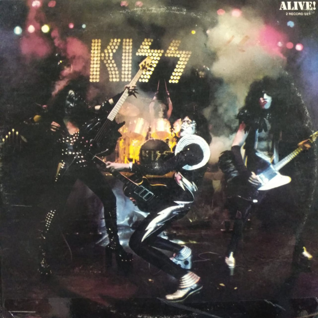 Alive By Kiss  (Used Vinyl )  VG