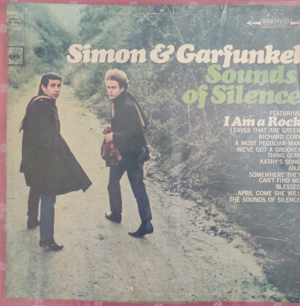Sounds Of Silence By Simon & Garfunkel  (Used Vinyl ) VG