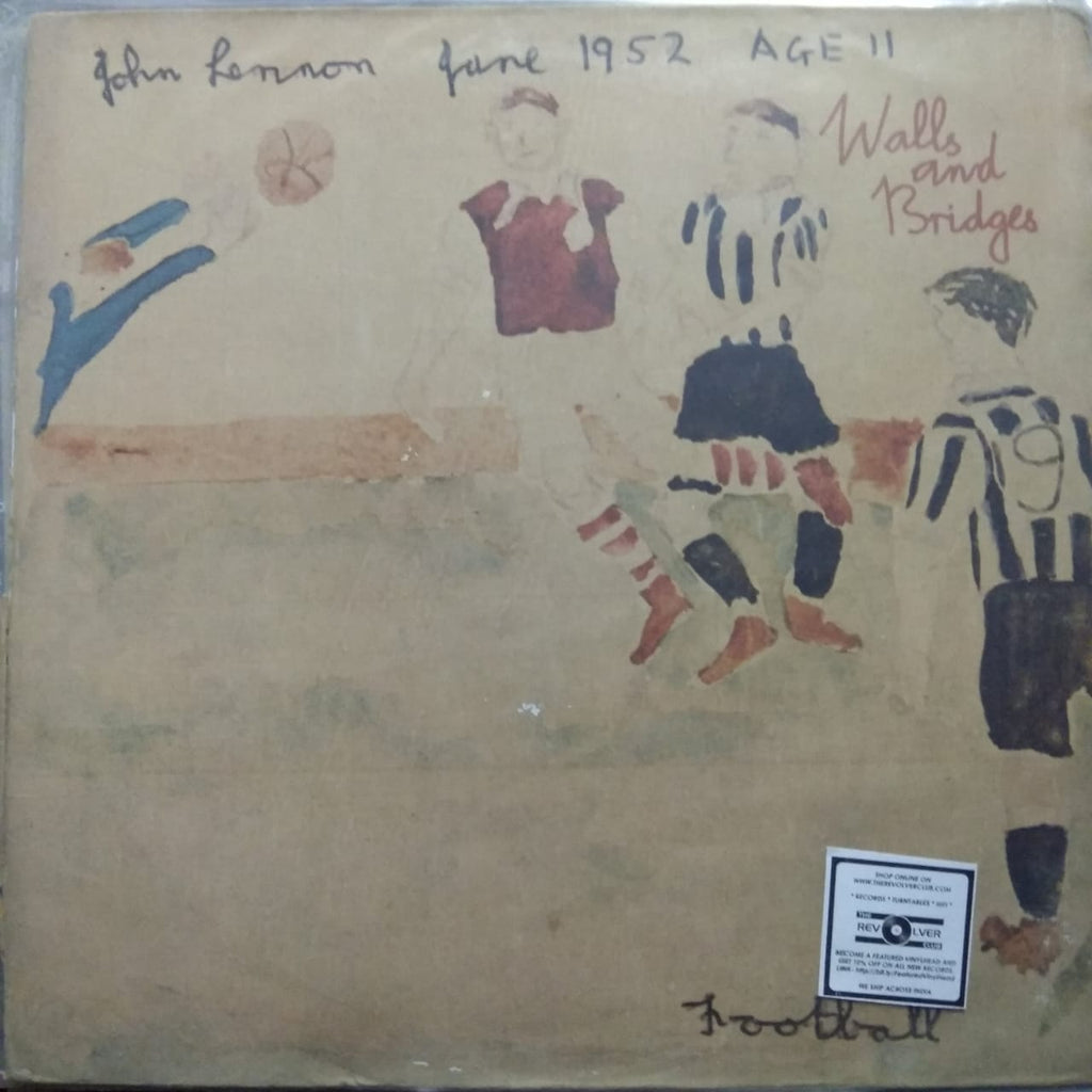 Walls And Bridges By John Lennon (Used LP) G