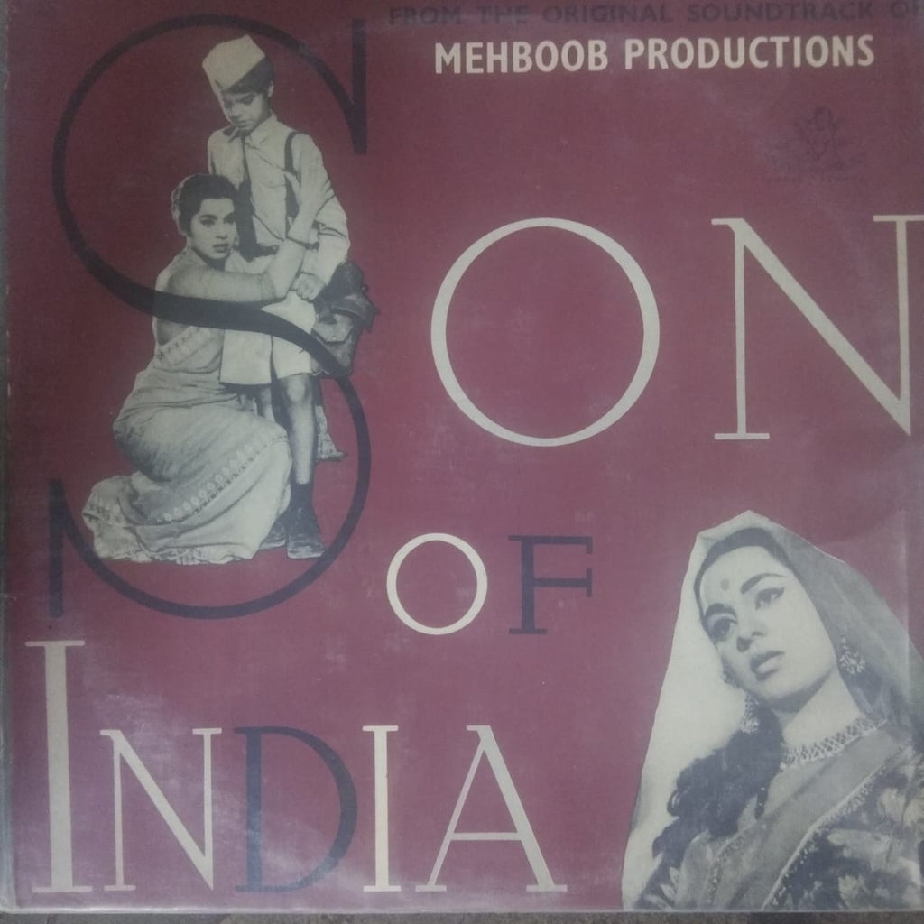 Son Of India By Naushad (Used Vinyl)  VG