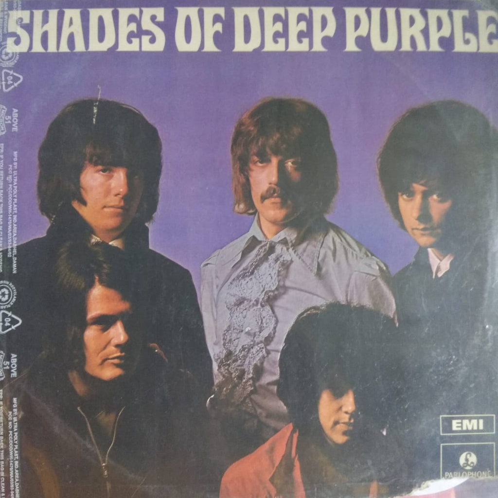 Shades Of Deep Purple By Deep Purple (Used Vinyl ) VG
