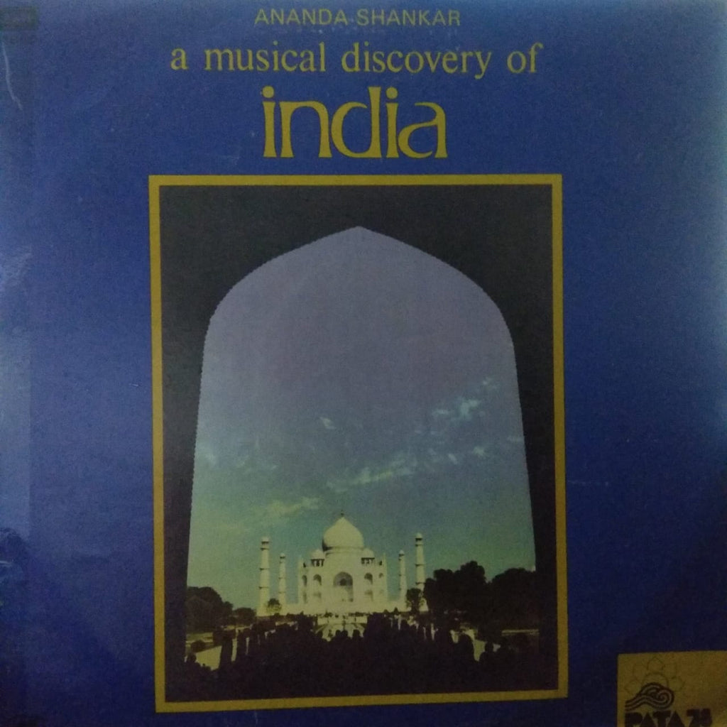 A Musical Discovery Of India By Ananda Shankar ‎ (Used Vinyl)