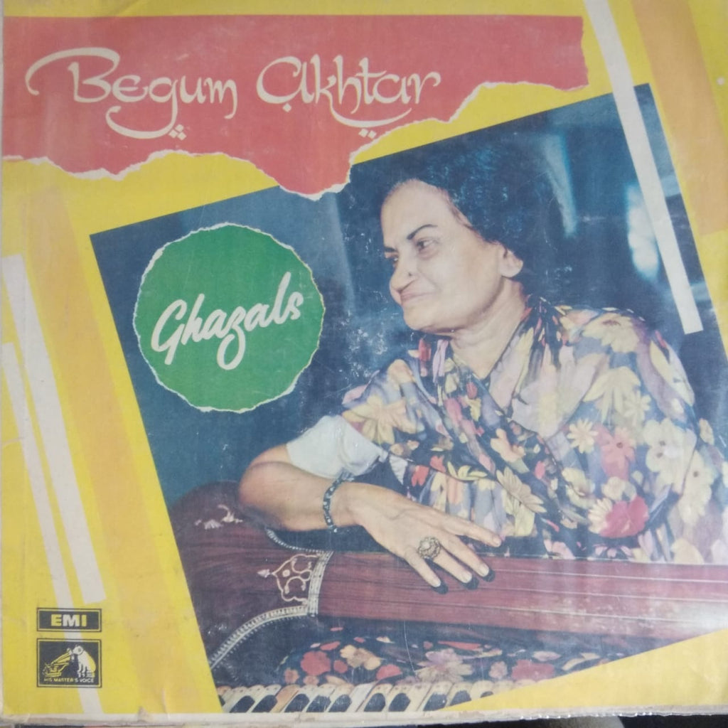Ghazals By Begum Akhtar (Used Vinyl) VG