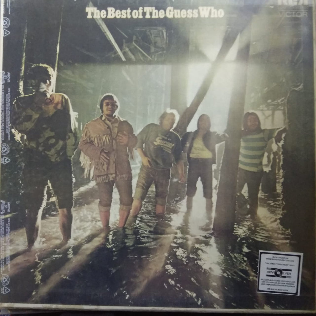 The Best Of The Guess Who By The Guess Who  (Used LP) VG