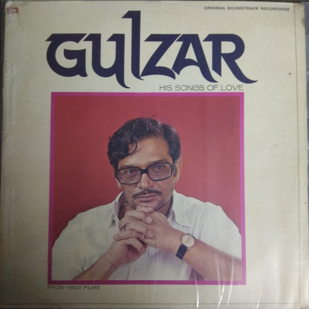 His Songs Of Love (From Hindi Films) By Gulzar  (Used Vinyl)