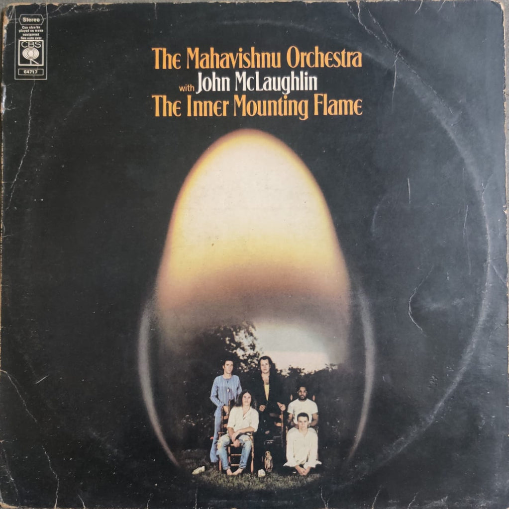 The Inner Mounting Flame By The Mahavishnu Orchestra  (Used Vinyl) VG