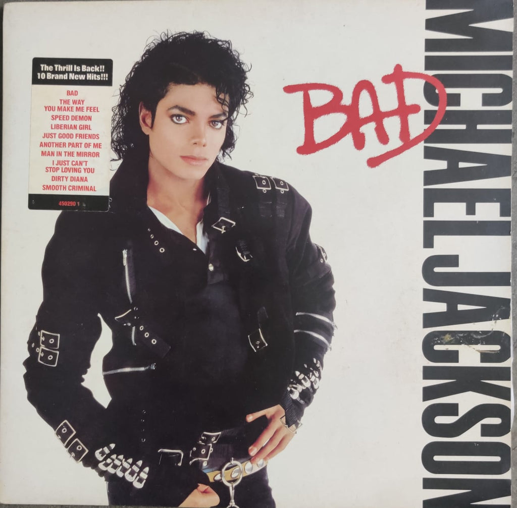 Bad by Michael Jackson (Used Vinyl ) VG