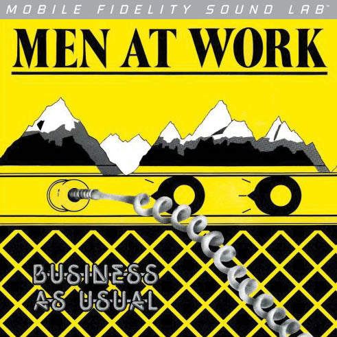Men at Work - Business as Usual LP  [Mofi Pressing]