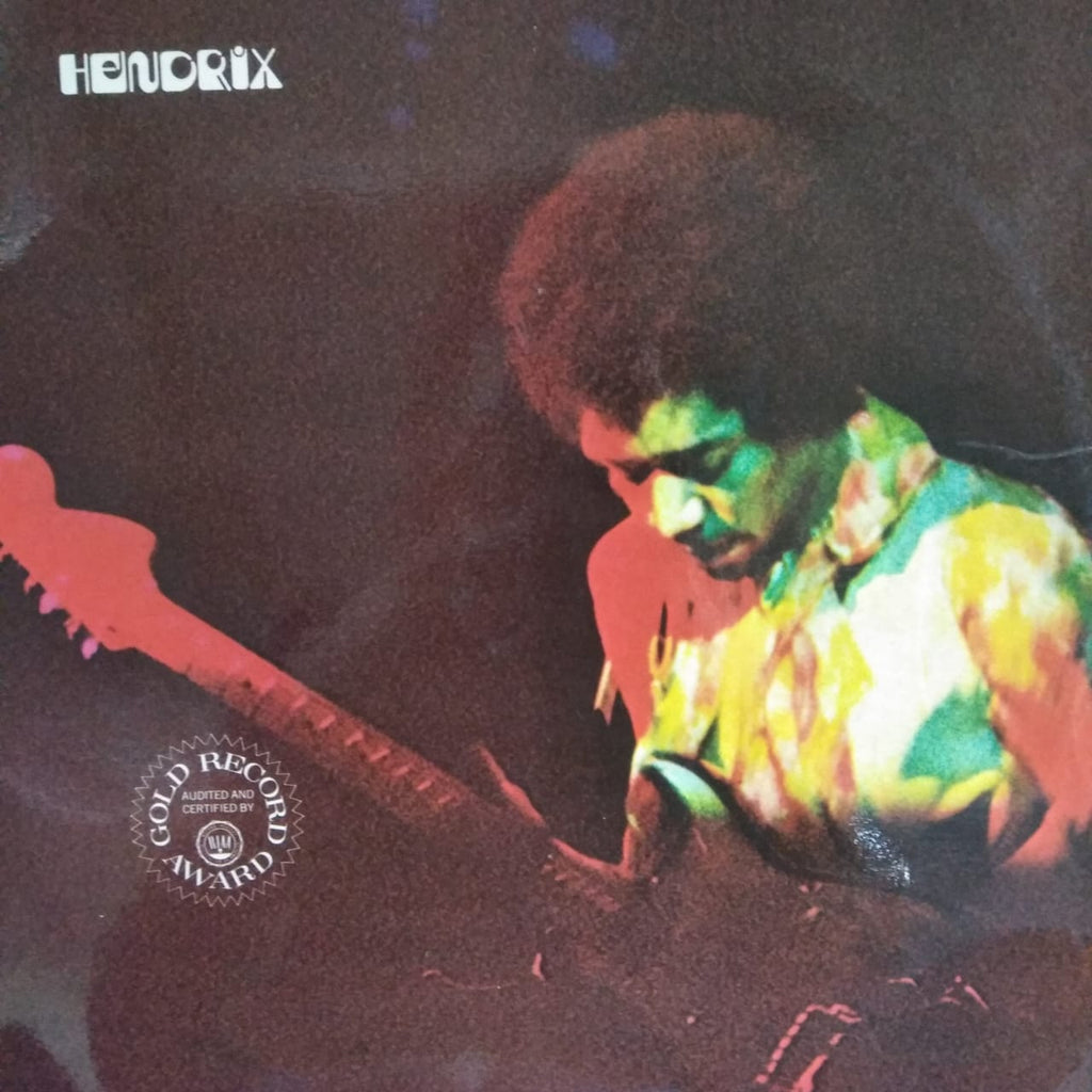 Band Of Gypsys By Hendrix (Used Vinyl )  VG