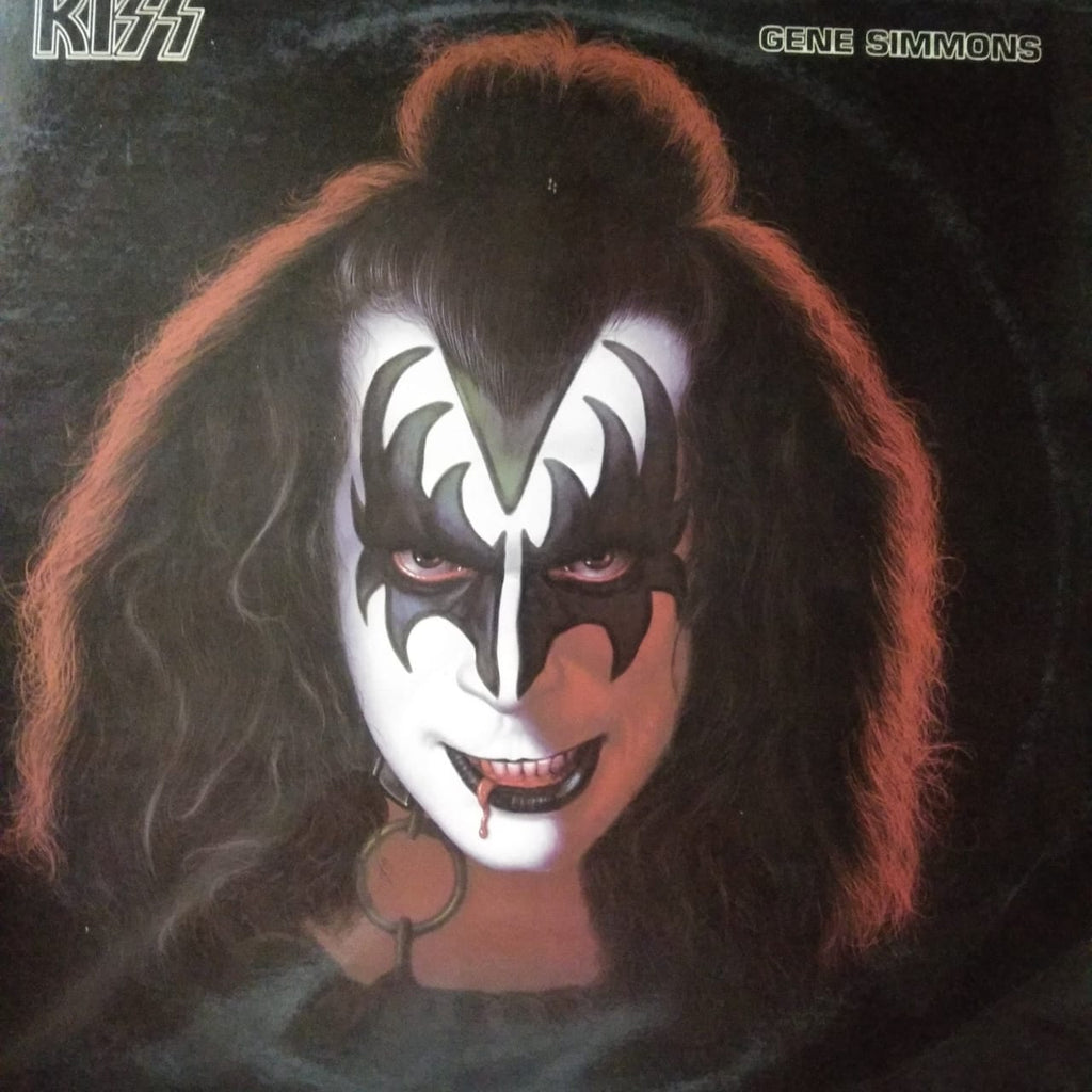 Gene Simmons By Kiss, Gene Simmons (Used Vinyl  ) VG