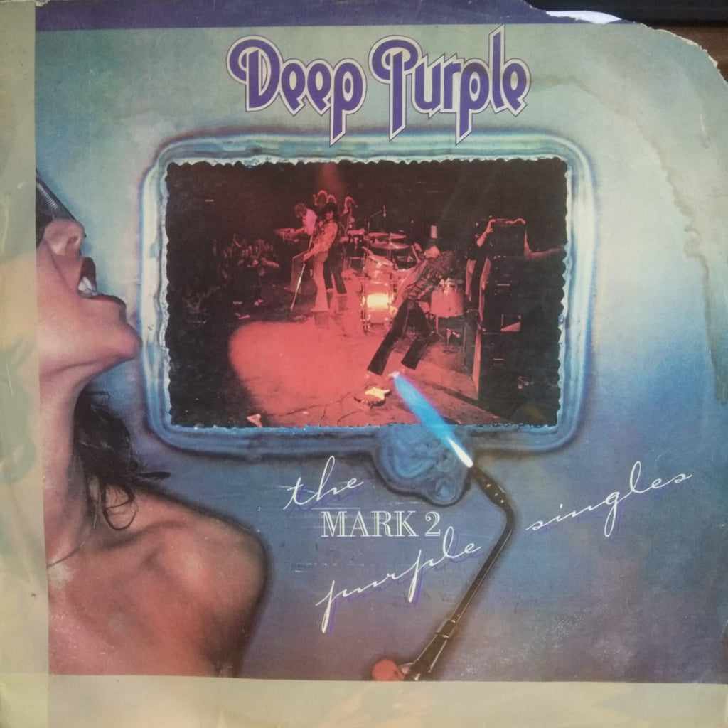 The Mark II Purple Singles By Deep Purple   (Used Vinyl ) VG