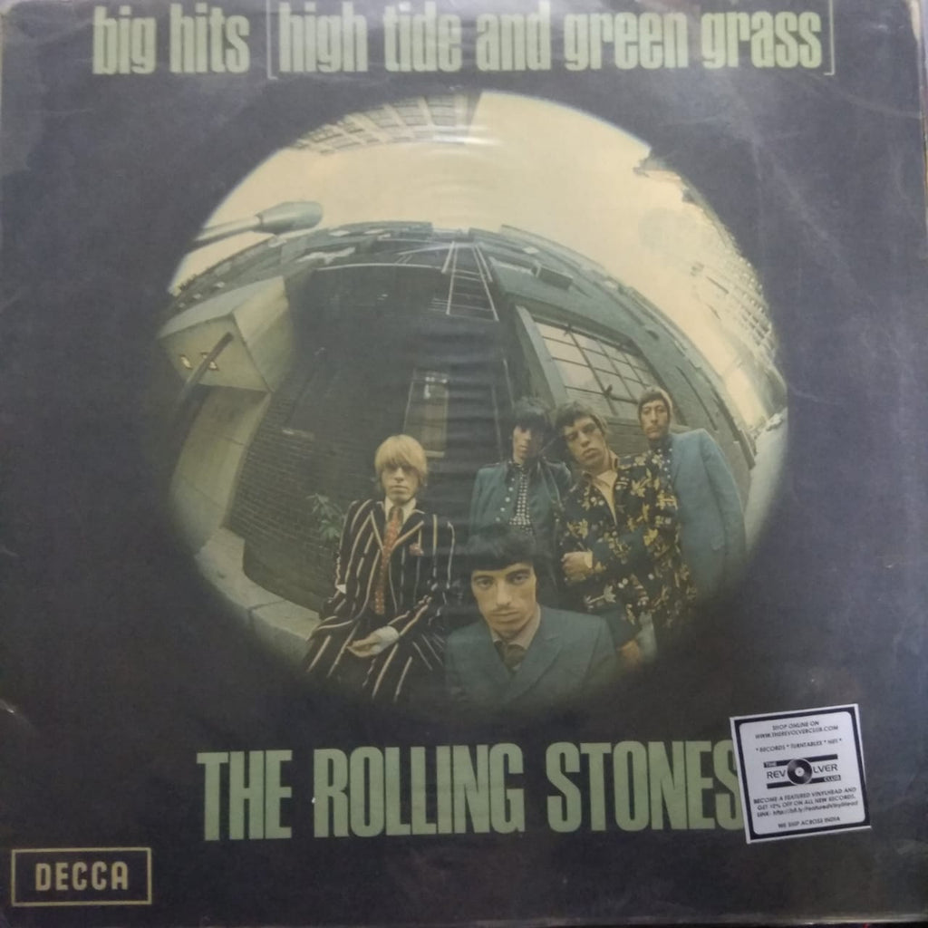 The Rolling Stones ‎– Big Hits (High Tide And Green Grass) (Used LP)  VG