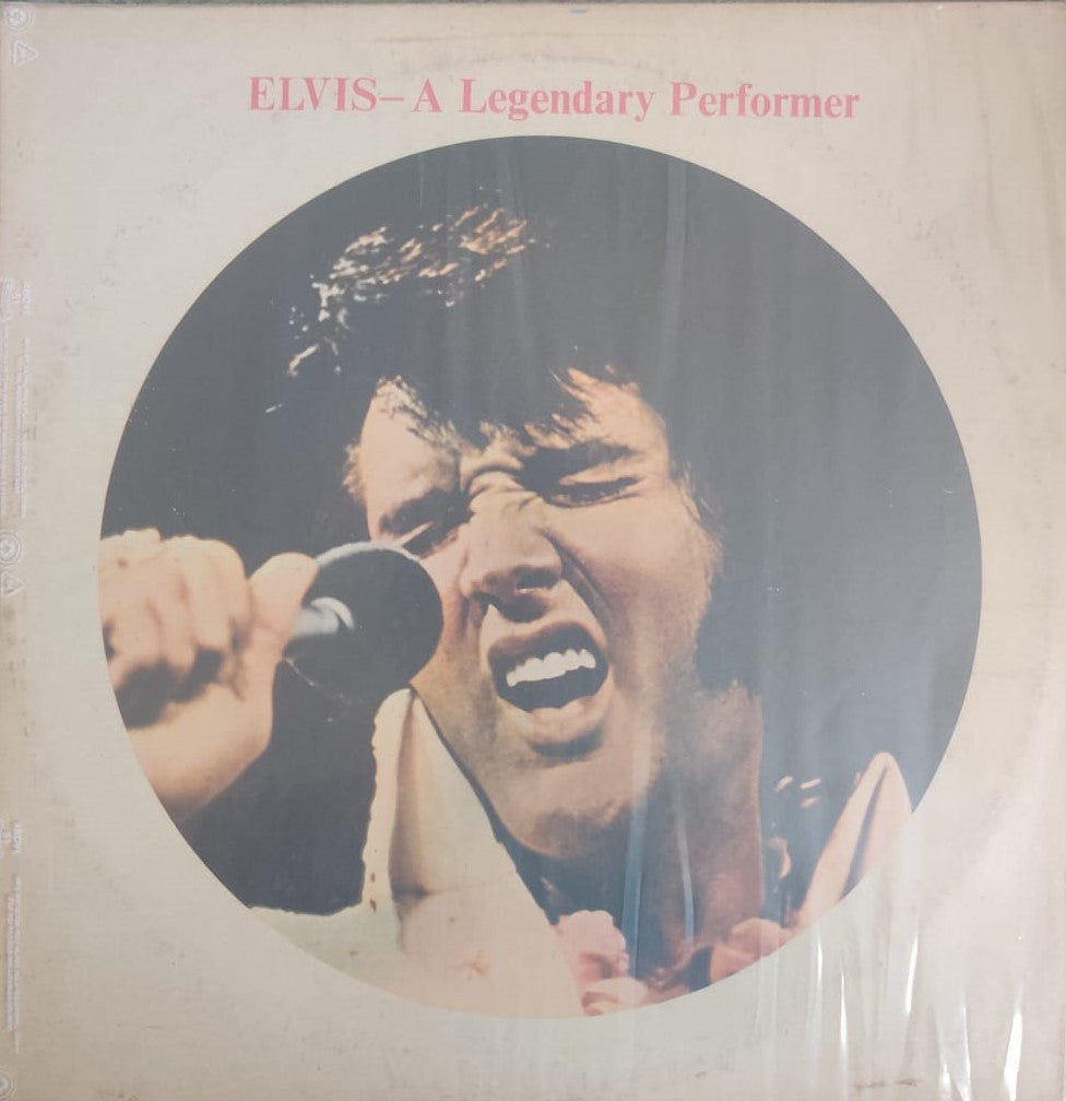 A Legendary Performer - Volume 1 By Elvis (Used Vinyl ) VG