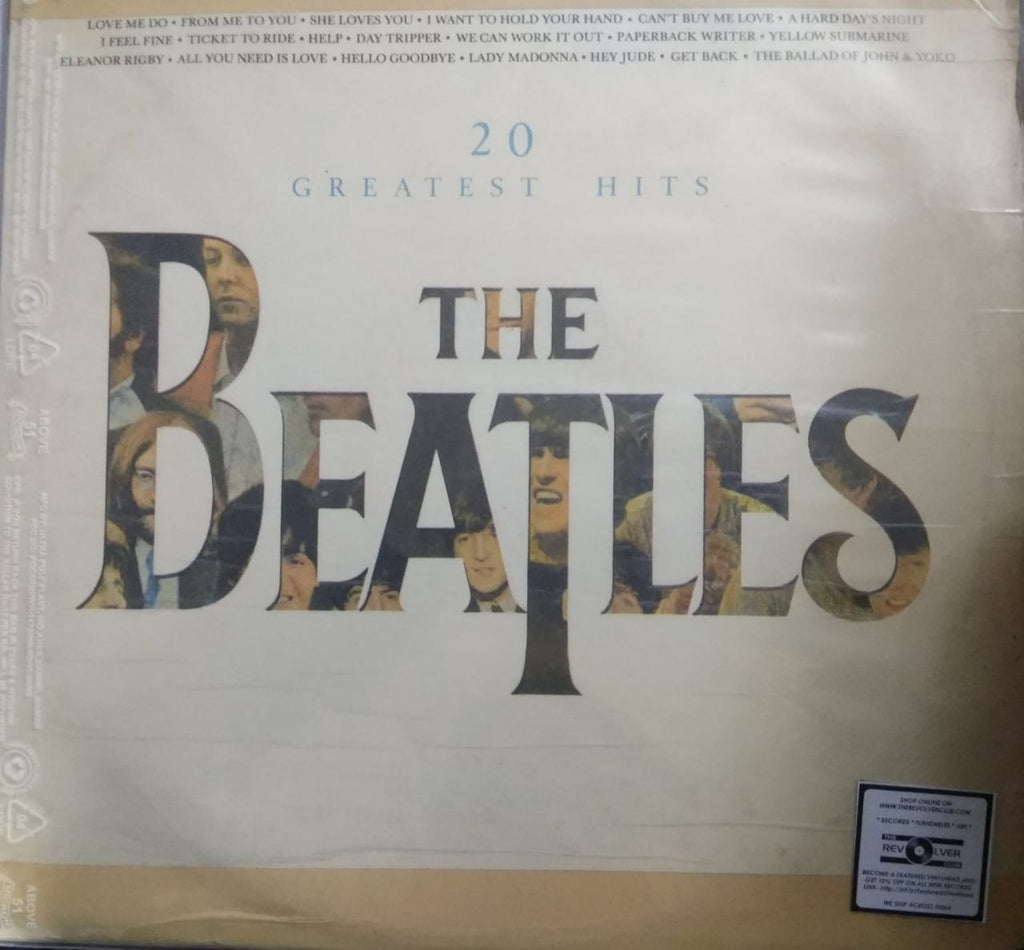 20 Greatest Hits By The Beatles   (Used LP) VG