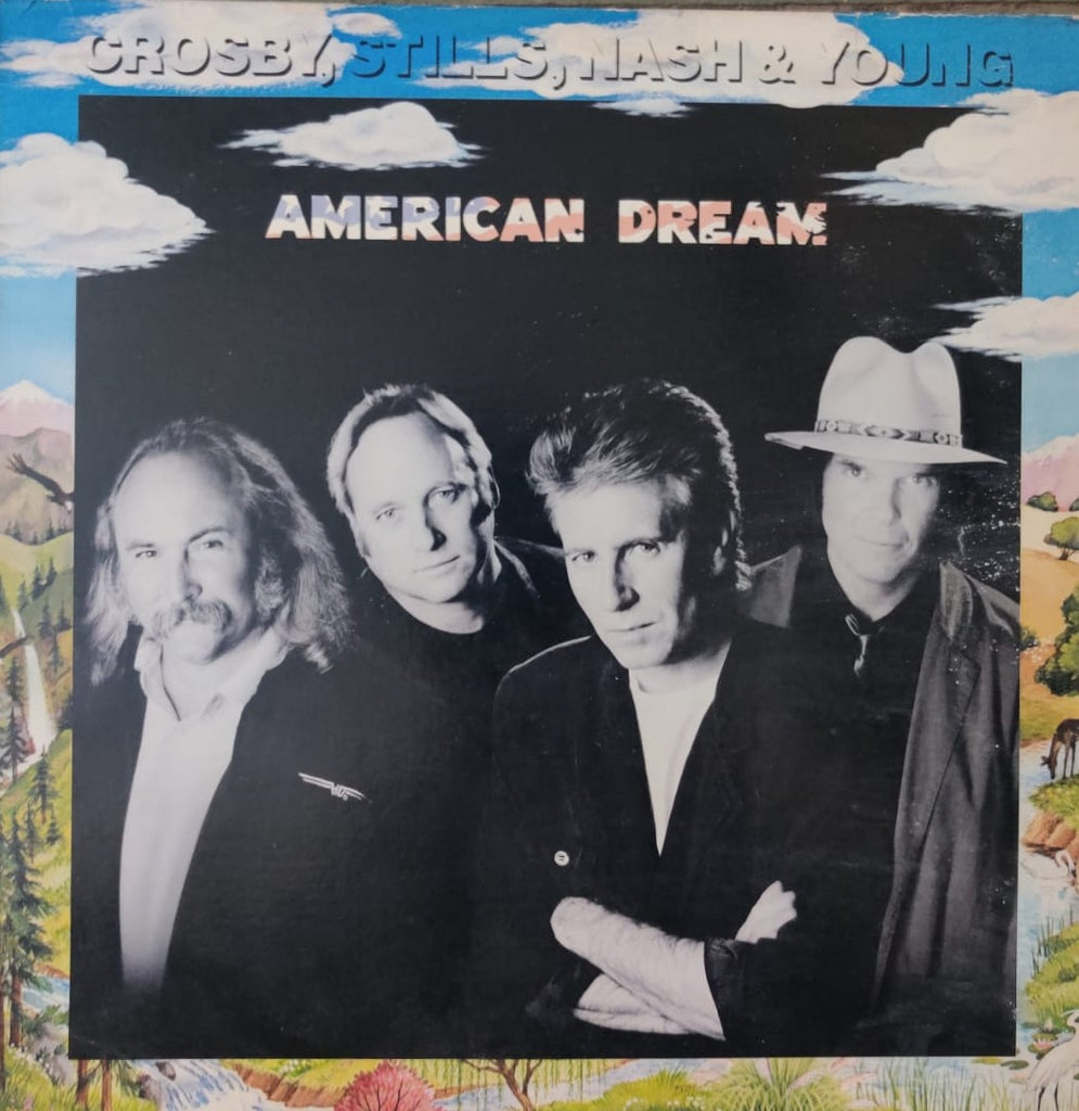 American Dream By Crosby, Stills, Nash & Young (Used Vinyl ) VG
