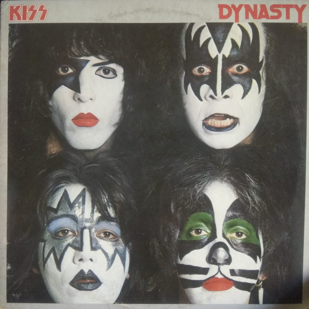 Dynasty By Kiss  (Used Vinyl )  VG