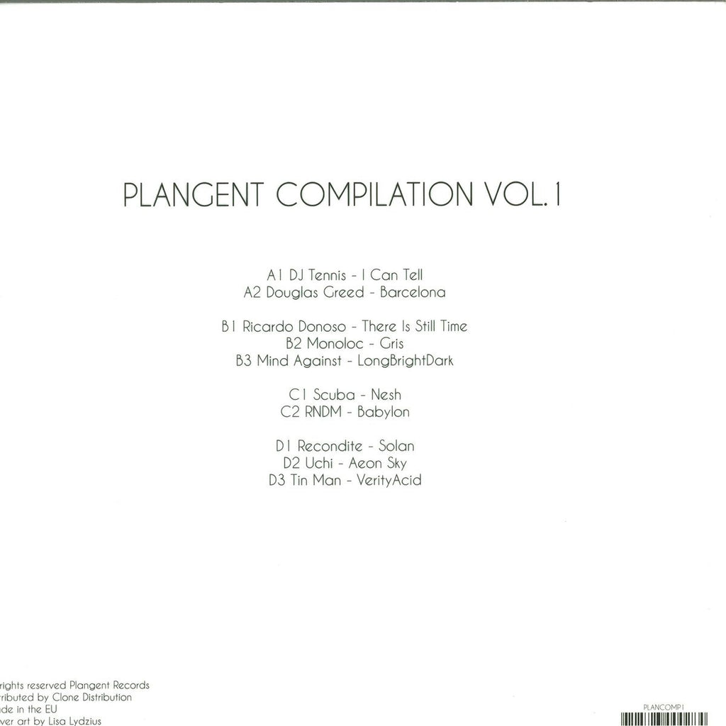 Various ‎– Plangent Compilation Vol. 1 [PLANGENT RECORDS]