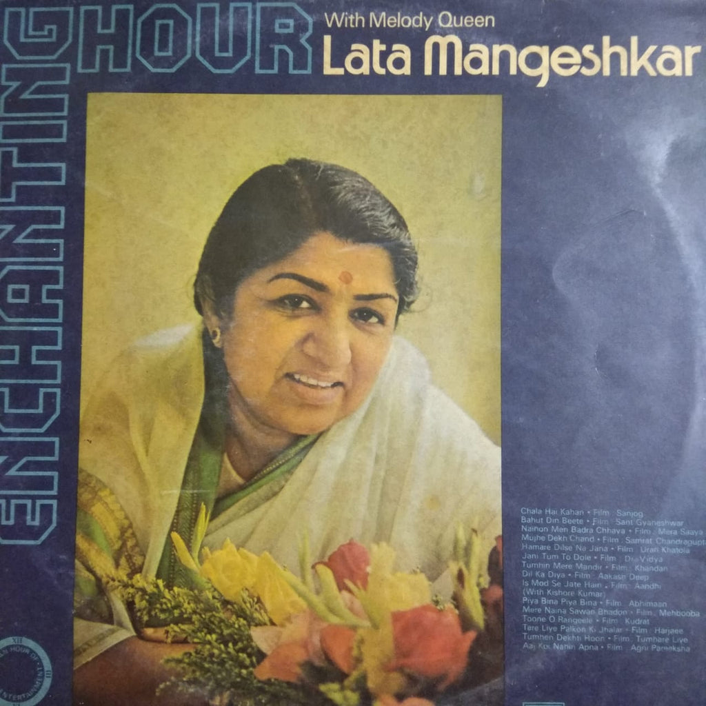 Enchanting Hour With Melody Queen Lata Mangeshkar By Lata Mangeshkar  ‎ (Used Vinyl)  VG