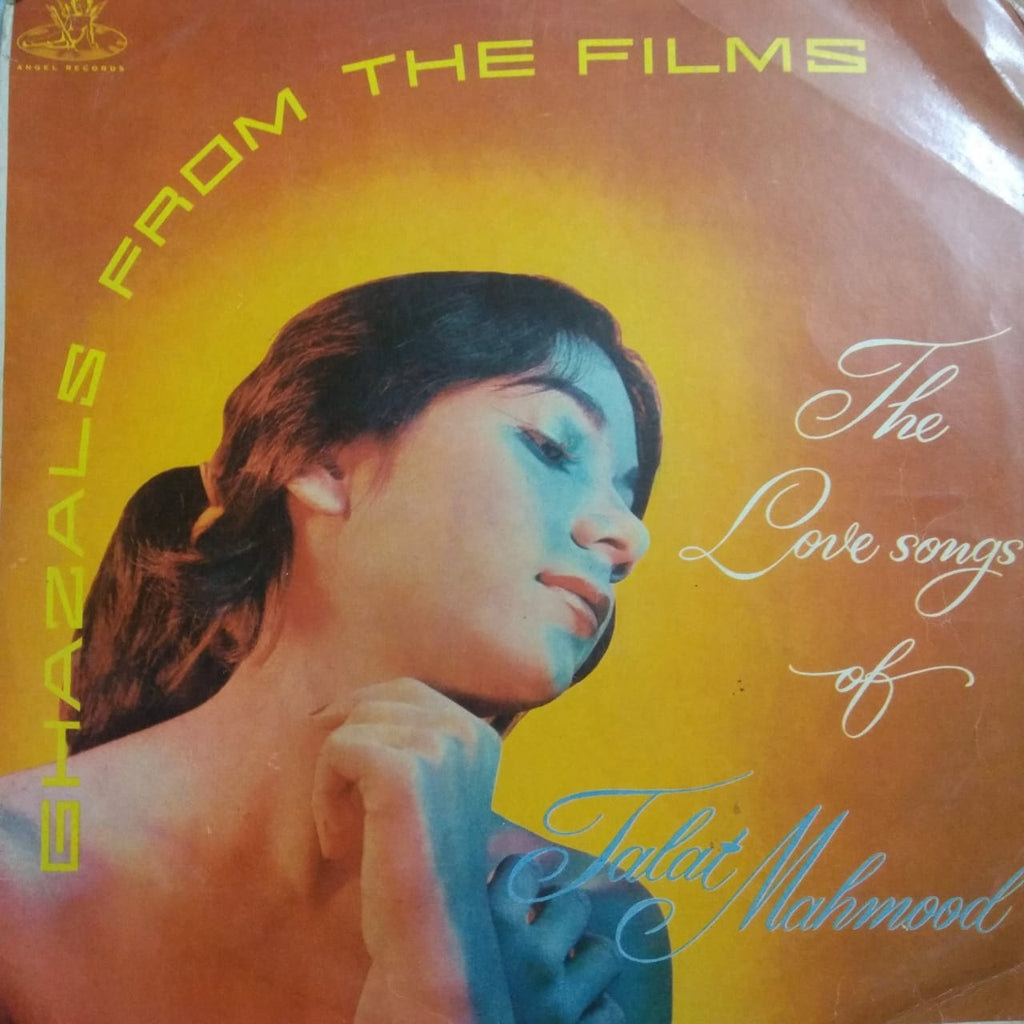 Ghazals From The Films By Talat Mahmood (Used Vinyl)  VG