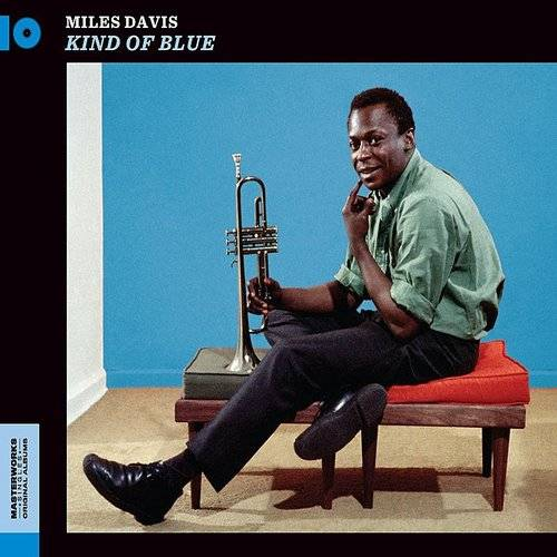 Kind Of Blue - Miles Davis [180-Gram Blue Colored Vinyl With Bonus Track] (Pre-Book at just Rs.500)