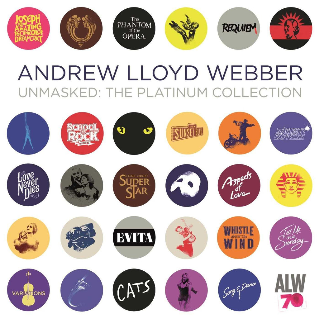 Unmasked: The Platinum Collection By Andrew Lloyd Webber