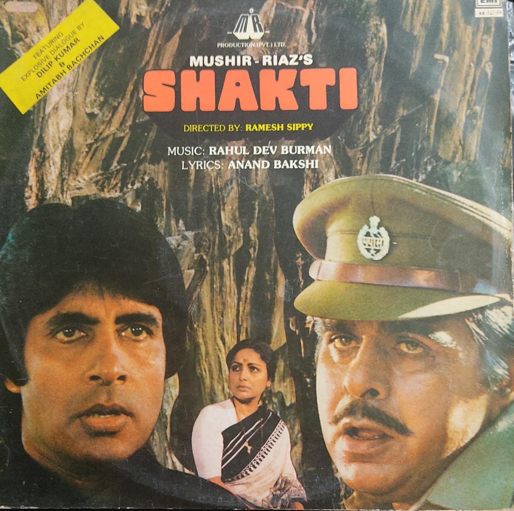 Shakti By Rahul Dev Burman*, Anand Bakshi  ‎(Used Vinyl)  NM