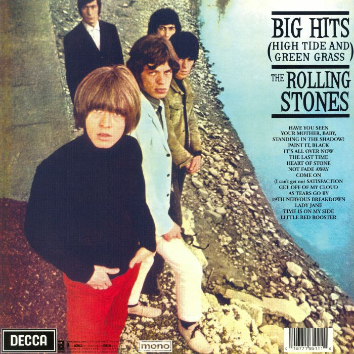 The Rolling Stones ‎– Big Hits (High Tide And Green Grass)
