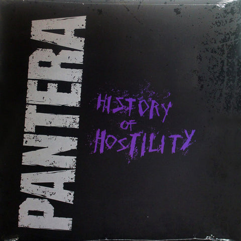 History Of Hostility By Pantera