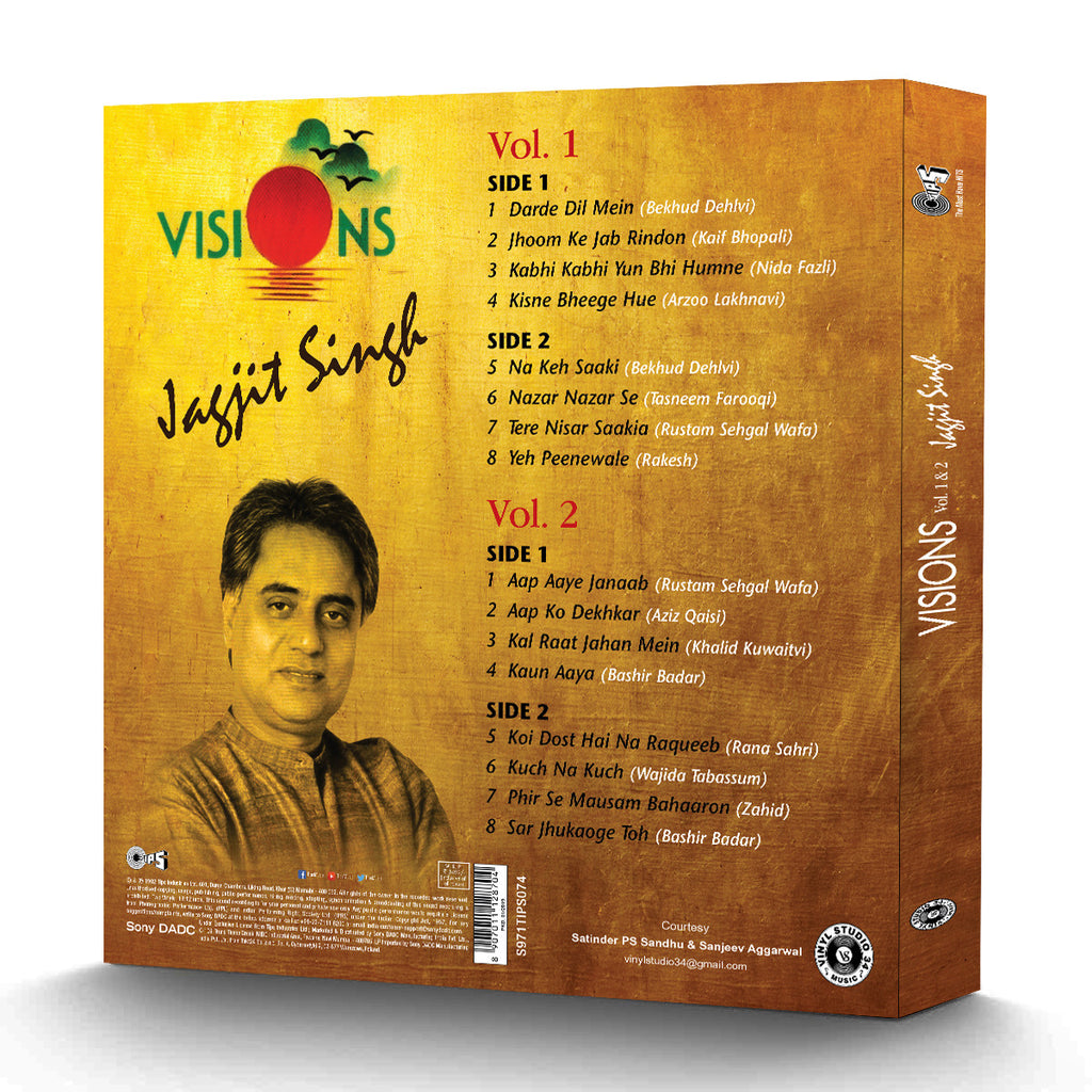 Visions by Jagjit Singh (Box Set)