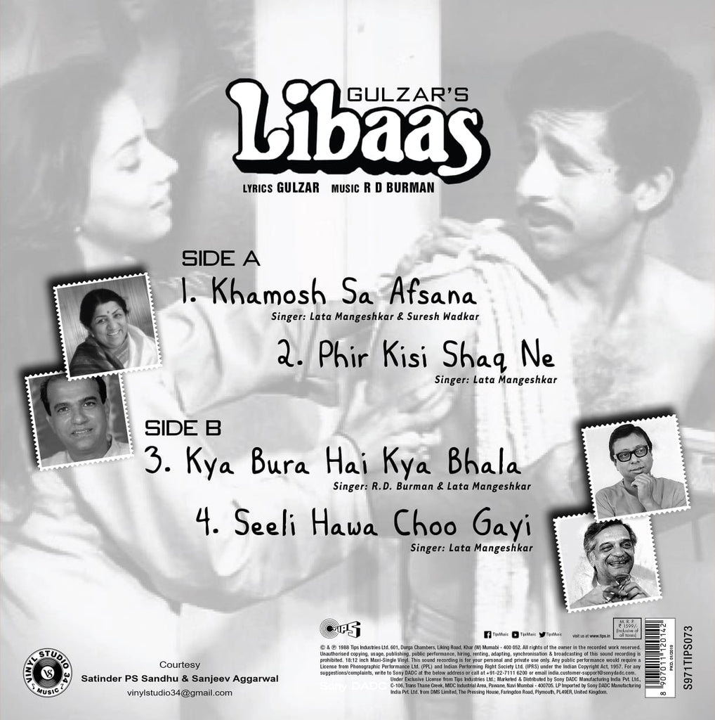 Libaas by R. D Burman