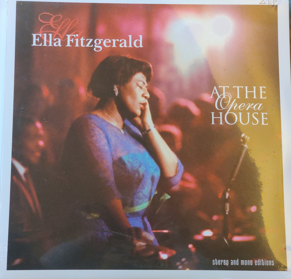 Ella Fitzgerald ‎– Ella Fitzgerald At The Opera House