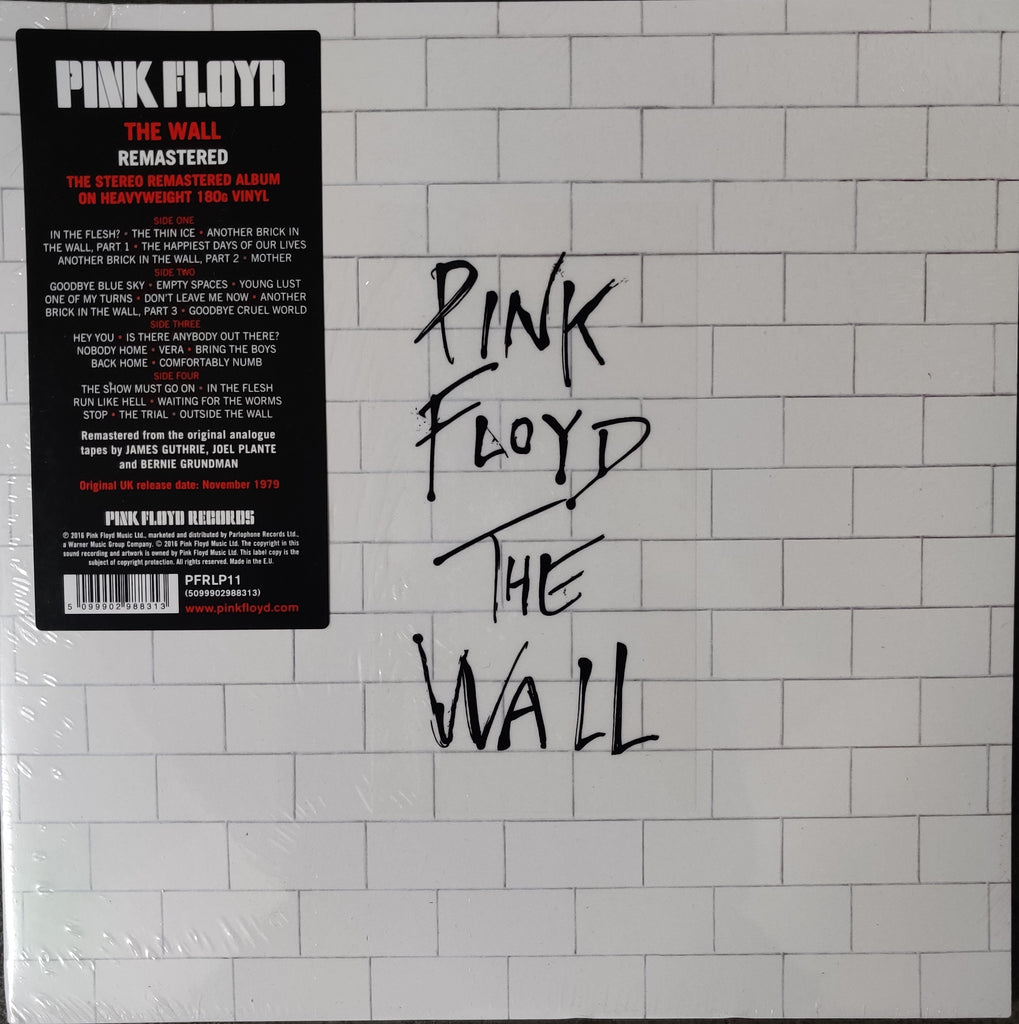 The Wall by Pink Floyd (The edge is slightly bent) (Sealed Brand new)