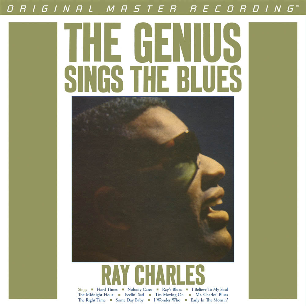 Ray Charles - The Genius Sings the Blues 180g Mono LP  [Mofi Pressing]