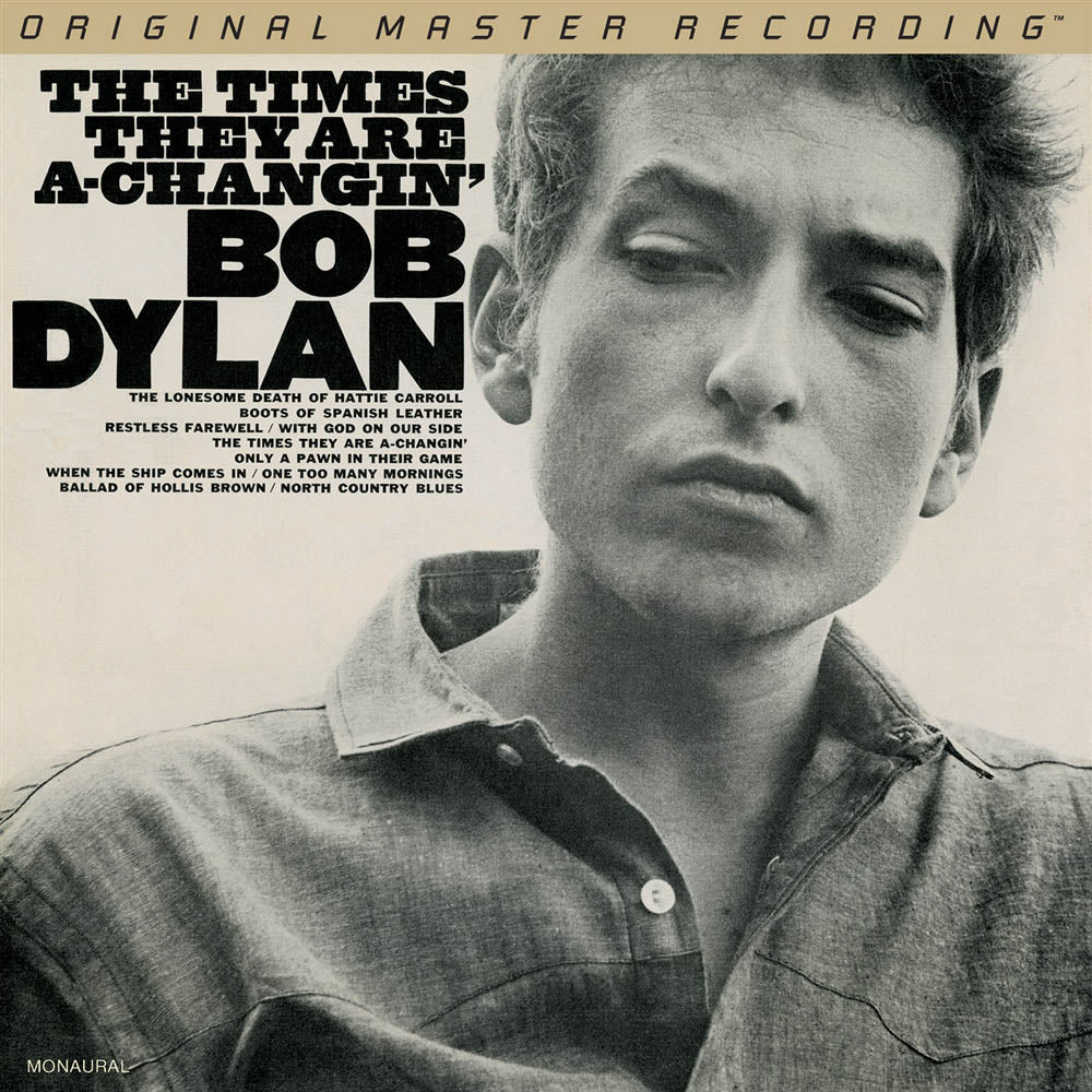 Bob Dylan - The Times They are a-Changin' 180g 45RPM Mono 2LP [Mofi Pressing]