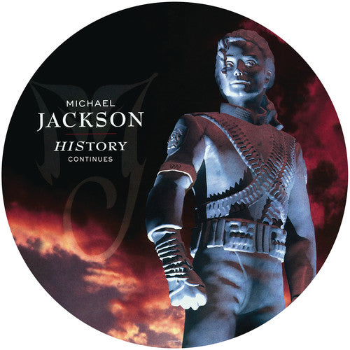 History - Continues By Michael Jackson - Picture Disc