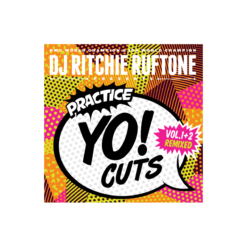 Practice Yo! Cuts V1&V2 Remixed 7 Inch by DJ Ritchie Ruftone