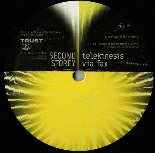 Second Storey ‎– Telekinesis Via Fax [TRUST]