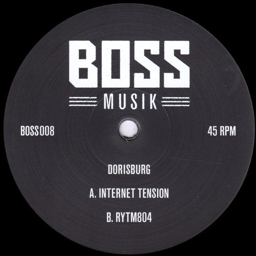 Dorisburg ‎– Internet Tension [Bossmusik] VINYL ONLY