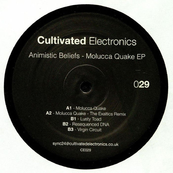 Animistic Beliefs ‎– Molucca Quake EP [Cultivated Electronics]
