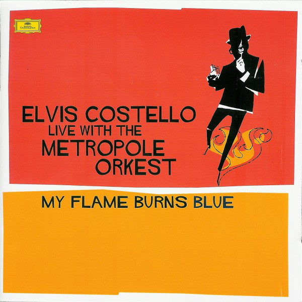 Live With The Metropole Orkest - My Flame Burns Blue By Elvis Costello ‎