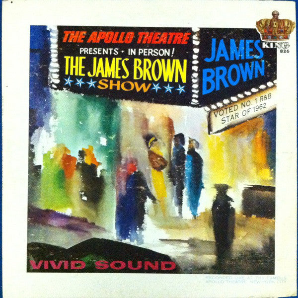 James Brown Live At The Apollo By James Brown