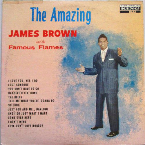 James Brown & The Famous Flames ‎– The Amazing James Brown