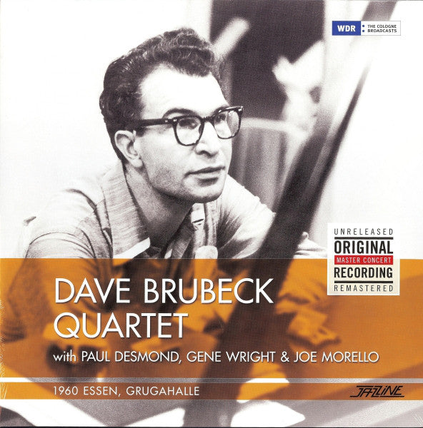 Dave Brubeck Quartet With Paul Desmond, Gene Wright* & Joe Morello ‎– 1960 Essen, Grugahalle